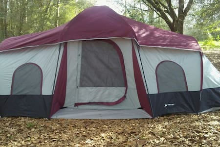 Spacious 3 Room Weather Proof Tent - Franklinton - Tent