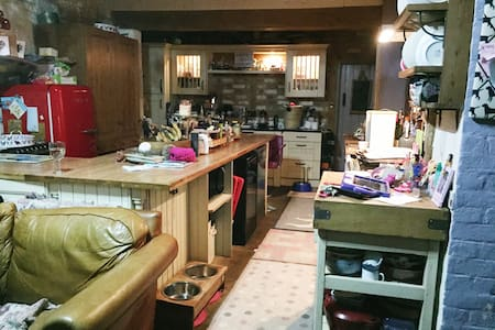 The Old Butchers. A cosy and spacious family home