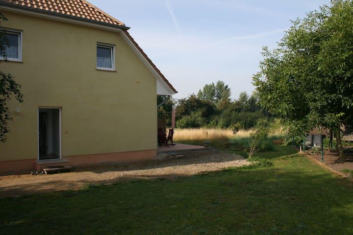 2 Zimmer Wohnung mit Terrasse zwischen der Insel Poel und Wismar
