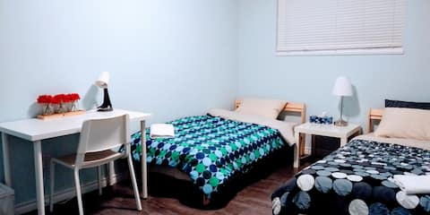 3.Private entry, WiFi, Free parking , washer&dryer