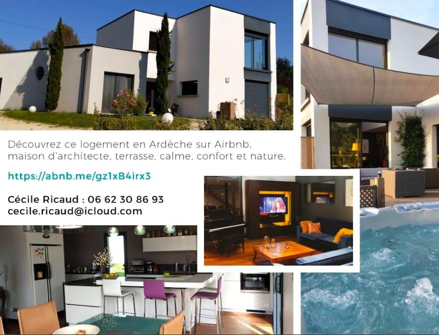 Maison D Architecte Terrasse Calme Nature Confort Official Villa In Saint Clair France 3 Bedroom 2 Bathroom