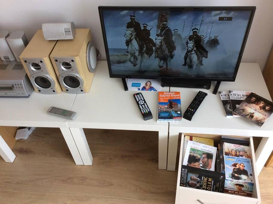 tv , dvd, sprzęt audio