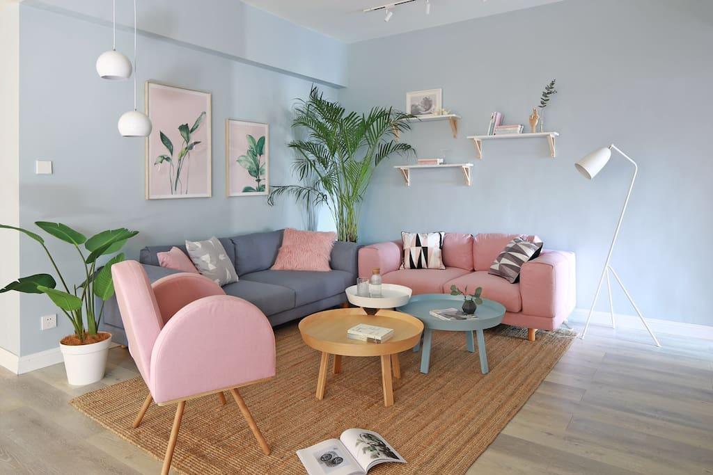 客厅、休息区