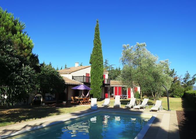 Spacious Villa within a private vineyard - Trèbes - Vila