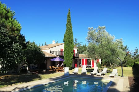 Spacious Villa within a private vineyard - Trèbes - Villa