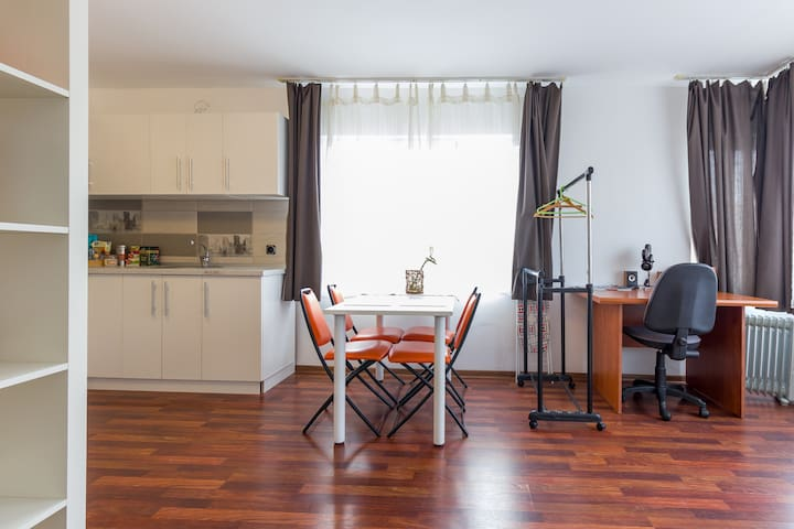 Modern Studio Apartment towards the airport