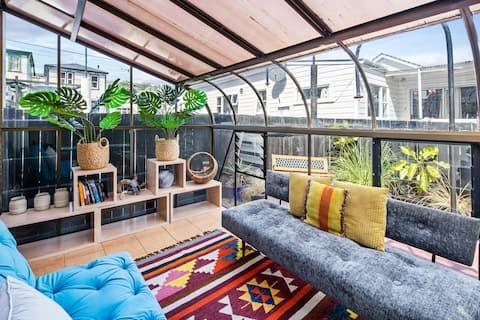Roger Walker designed apartment.