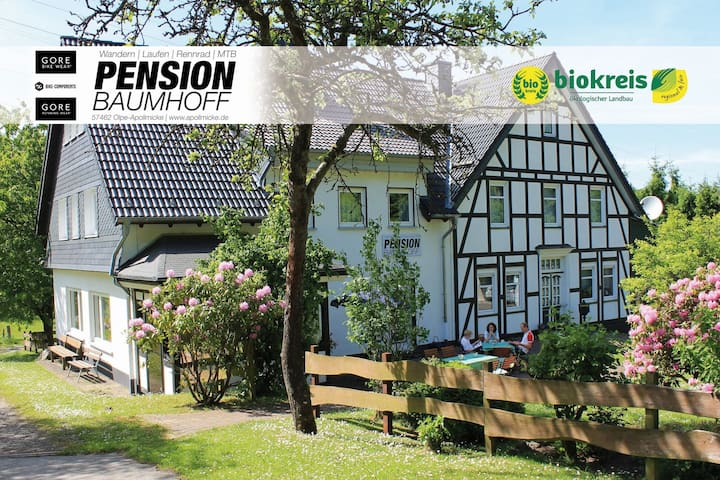 Pension Baumhoff, (Olpe-Apollmicke), Doppelzimmer 2