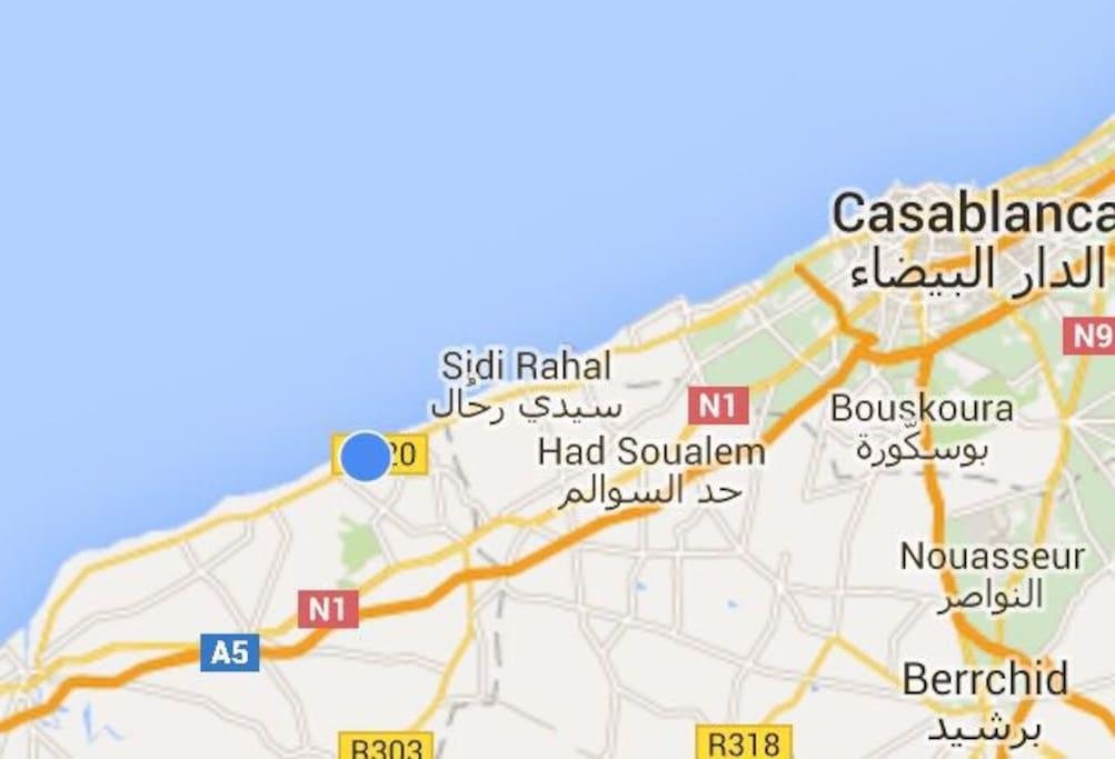 Proximité de Casablanca