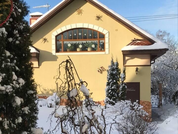 Домик, рядом  Сорочаны, Волен, Яхрома, Дмитров.