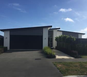 Contemporary, 15mins airport & city - Christchurch - Rumah