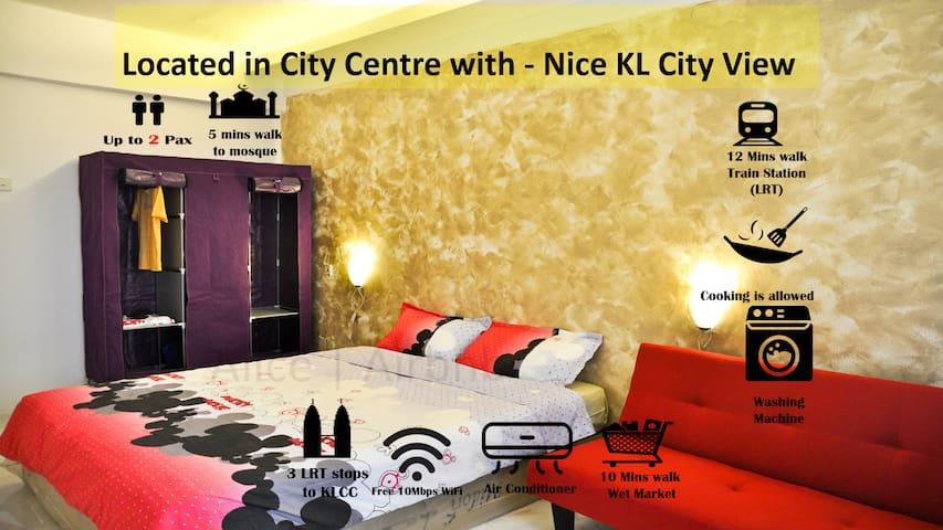 KLCC View Big Room  Own Bathroom   Kitchen Laundry