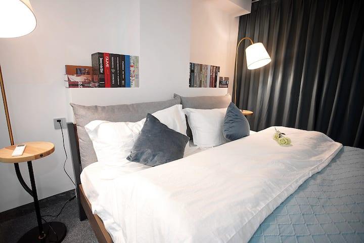 Angel的美式空间·复式2层公寓2室一厅(近火车南站/两江四湖/象鼻山/漓江)