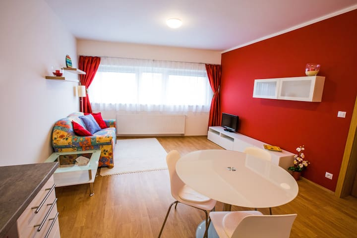 SUNNY&CLEAN apartment 20min CENTRE - Praag - Appartement