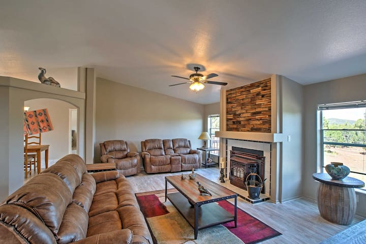 NEW! 3BR Vernon Home w/ Private Deck and Jacuzzi!