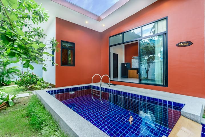 1SI#1BR Boutique Private Pool Villa,Comfy Bed,Wifi