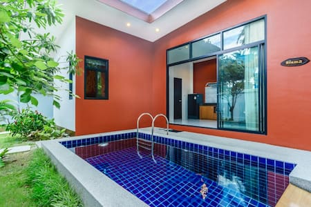 1SI#1BR Boutique Private Pool Villa,Comfy Bed,Wifi - Ko Samui