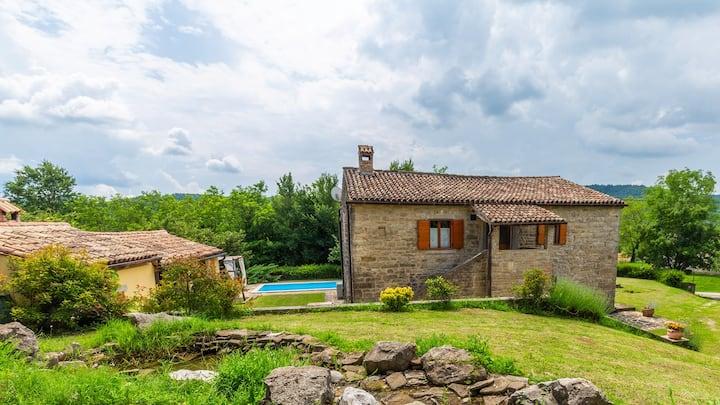 "Istria ""CasaBorut1865"" - the fairytale stone villa"