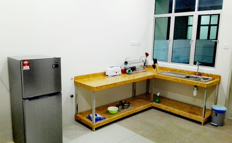 Indoor Dry kitchen