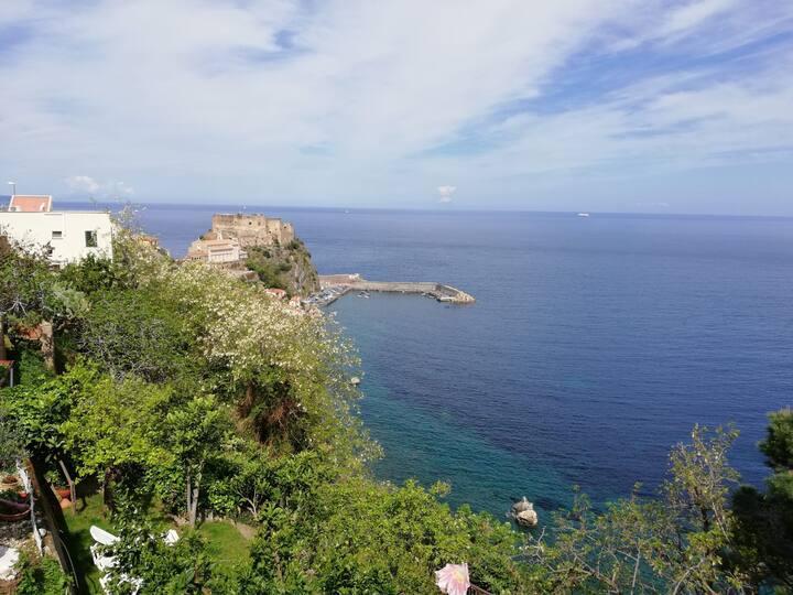 Villa con vista mare mozzafiato a Scilla
