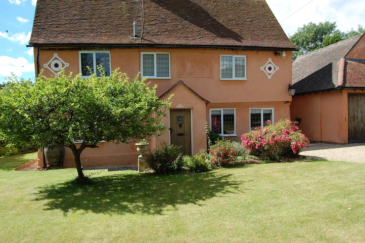 Medieval house - lovely room and private bathroom - Long Melford - Casa