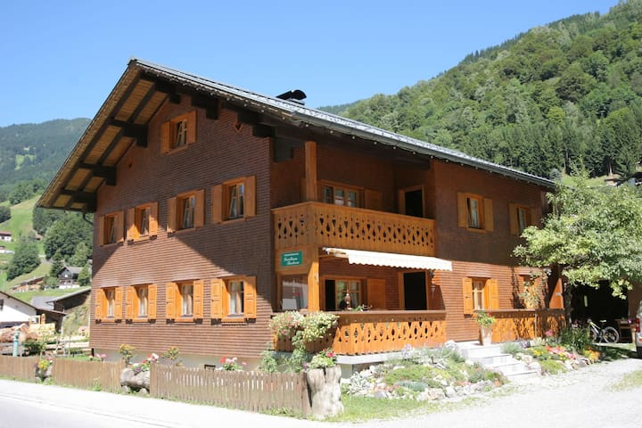 Cozy Apartment with Sauna near Ski Area in Silbertal