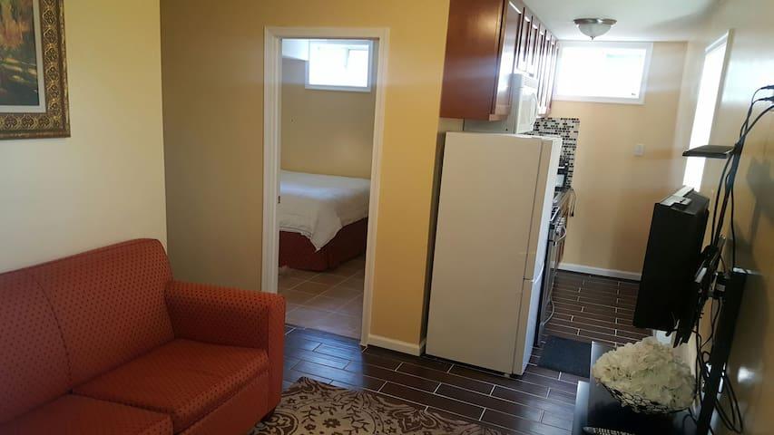 Cozy  Basement Apartment in quiet Bowie Suburb