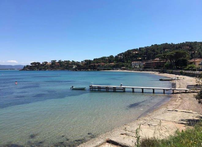 Spiaggia del Pozzarello-raggiungibile a piedi
