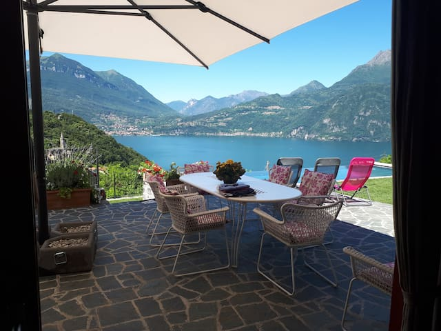 Villa Silvi with pool 5 min. Varenna