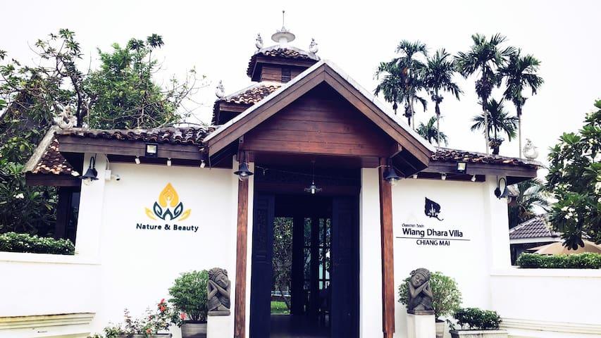迦泰曼塔C栋别墅+免费早餐、接送机服务