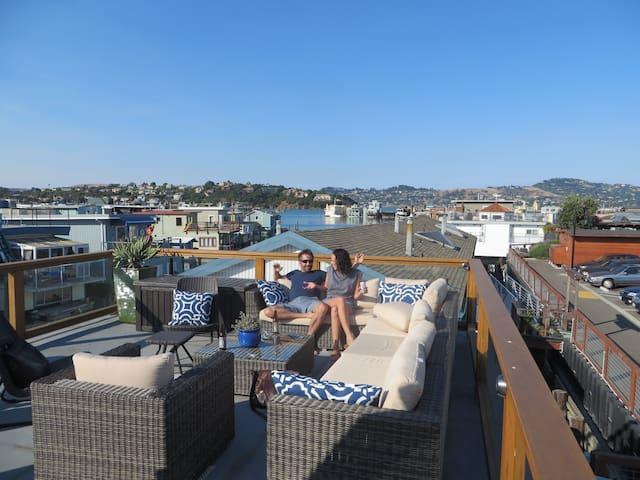 Sausalito houseboat living - Sausalito - Casa