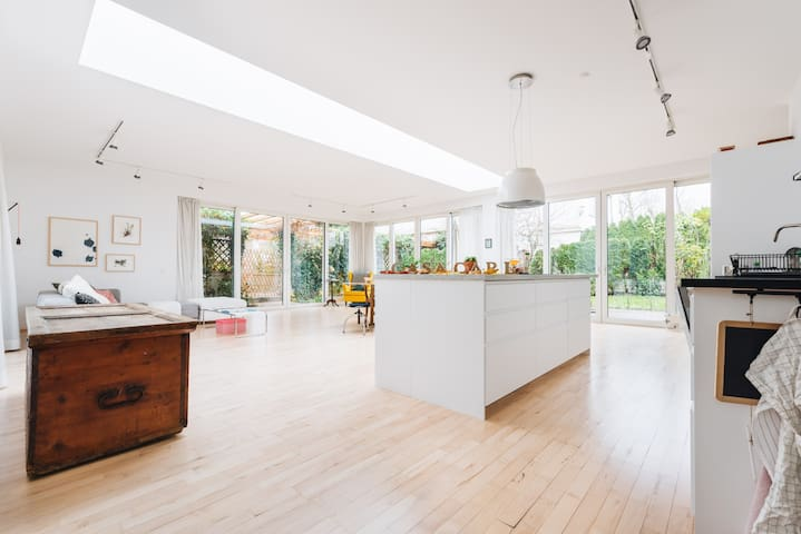 Stylish & cosy Bungalow 120qm with garden CasaCarl