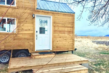 Cove Fort Smart Tiny House in the Desert