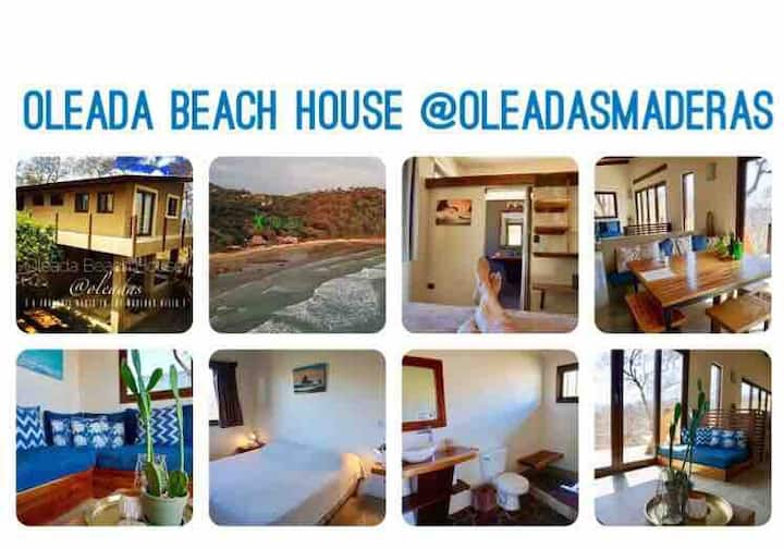 Oleada Beach House @Playa Maderas