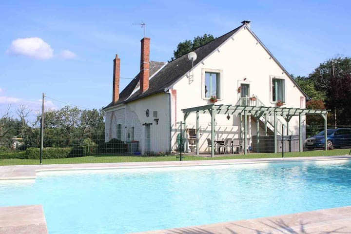 Self catering apartment for two. Loire Valley.