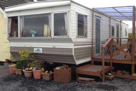 Mobile Home with stunning views - Newport