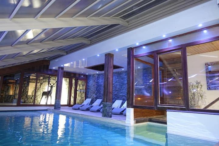 Studio avec balcon vue montagne & un accès piscine