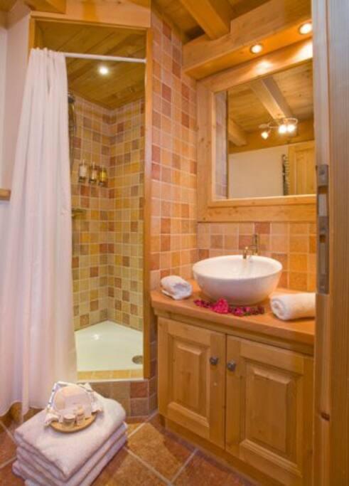 Shower en-suite. Please note most en-suites have a shower over the bath.