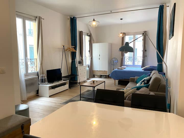 Fully renovated 33 sqm 1 bedroom - hearth of Paris