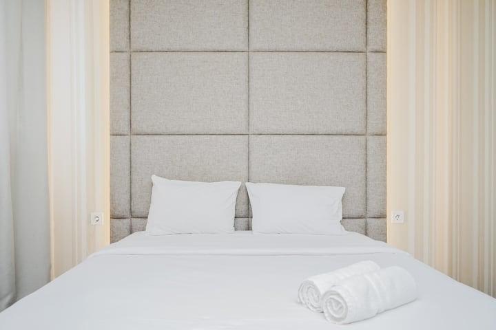 Modern Classic Studio Room Bintaro Icon Apartment