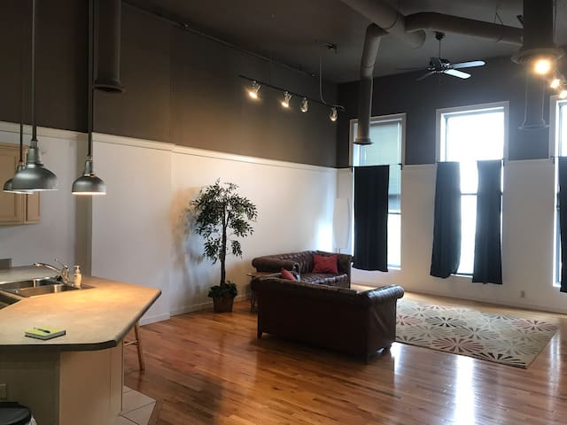 """Luxurious loft """" Dunne right"""" downtown Peoria #2"""