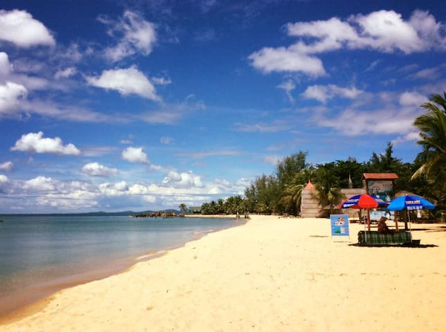 Room with your own private beach. - Thành phố Phú Quốc - Bed & Breakfast
