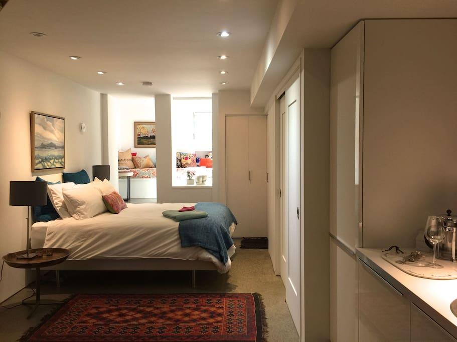 cozy & spacious