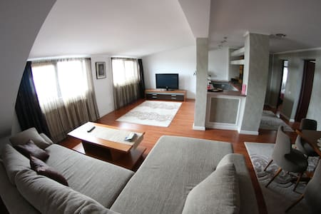 Apartment in Villa center town. 2 bedrooms+sof