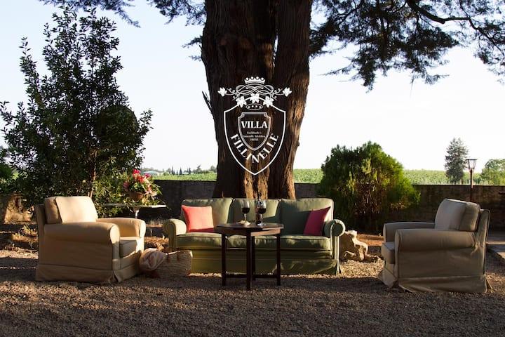 Villa Fillinelle, Relais in Chianti