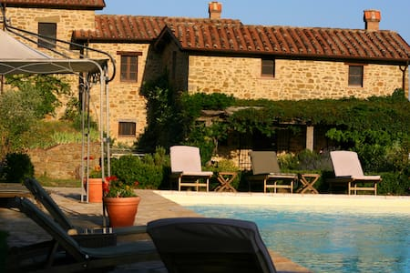 Umbria home, privacy  space  comfort - Monte Santa Maria Tiberina - Vila