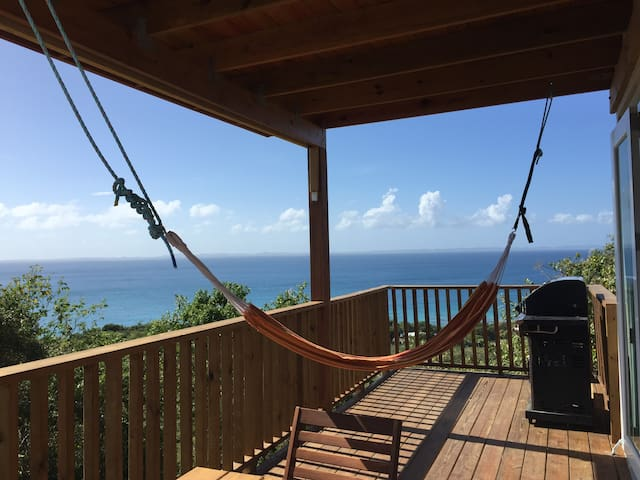 Private Off the Grid Hilltop Starboard Apt - Culebra - Apartemen