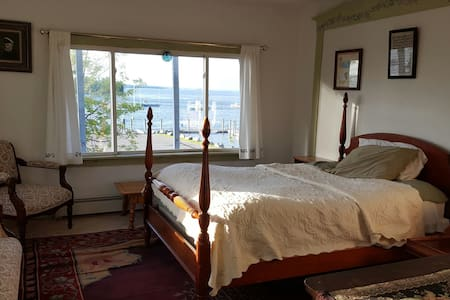 Private rm, breathtaking ocean view - Lubec - Dom