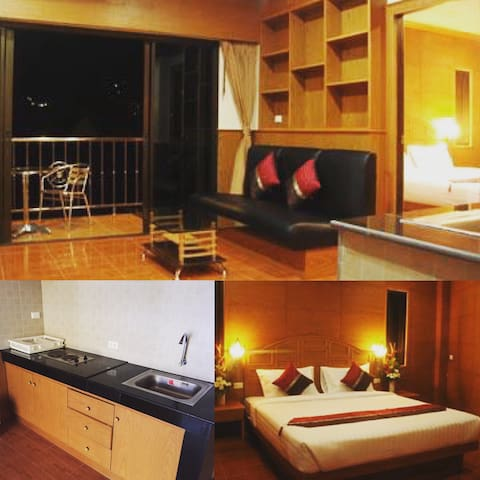 SK_Suite with Kitchen and Huge Balcony