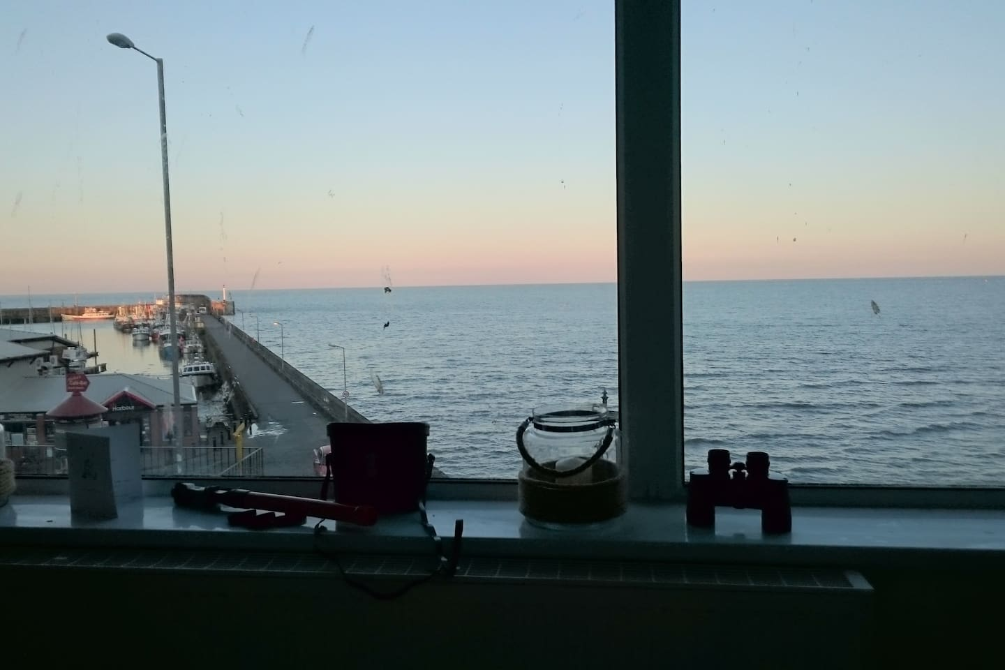 Sunsetting from the lounge